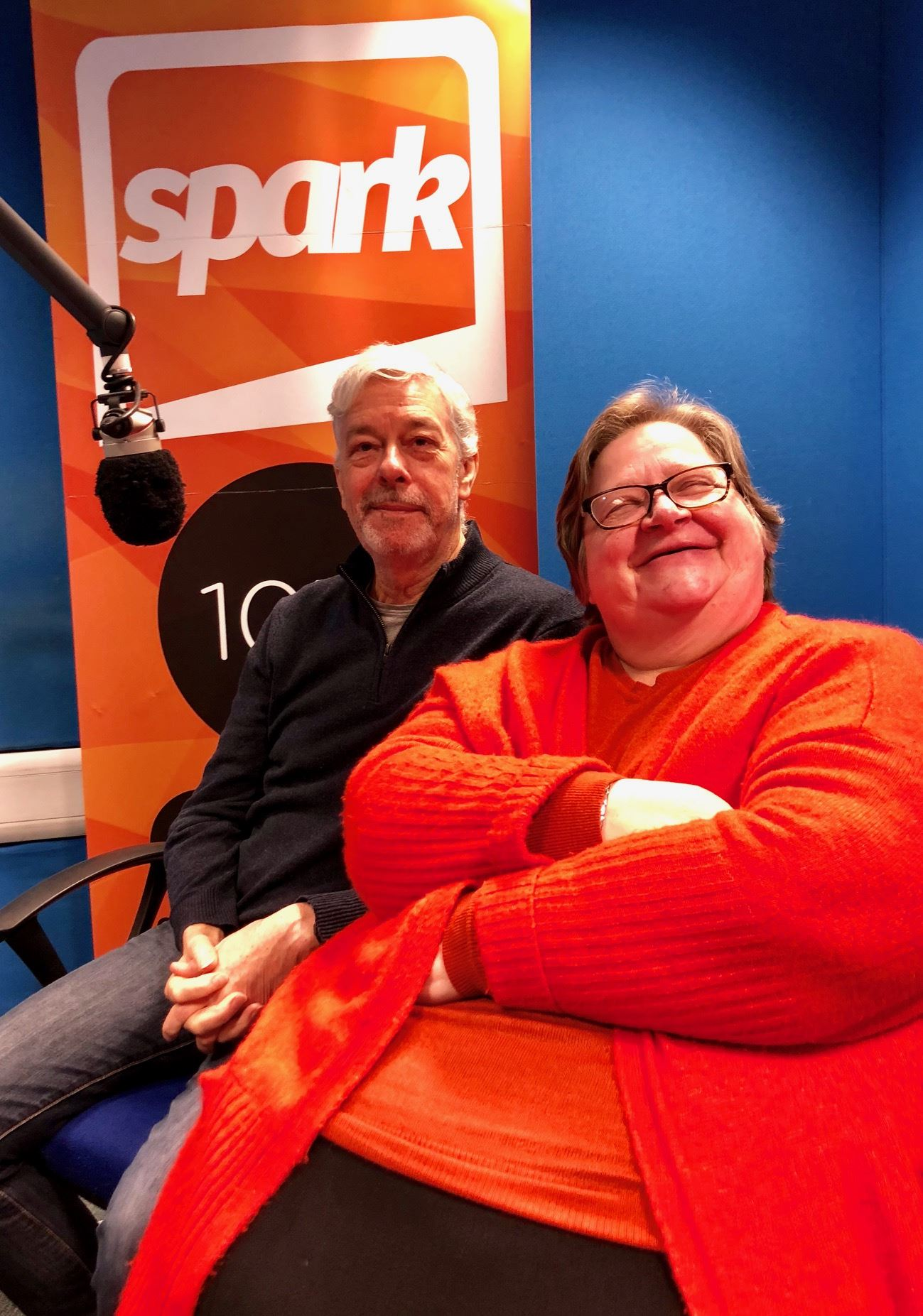 ArtyParti Diane Gray Ben Hudson Community Arts Project North East Sunderland South Tyneside Spark radio live fm community