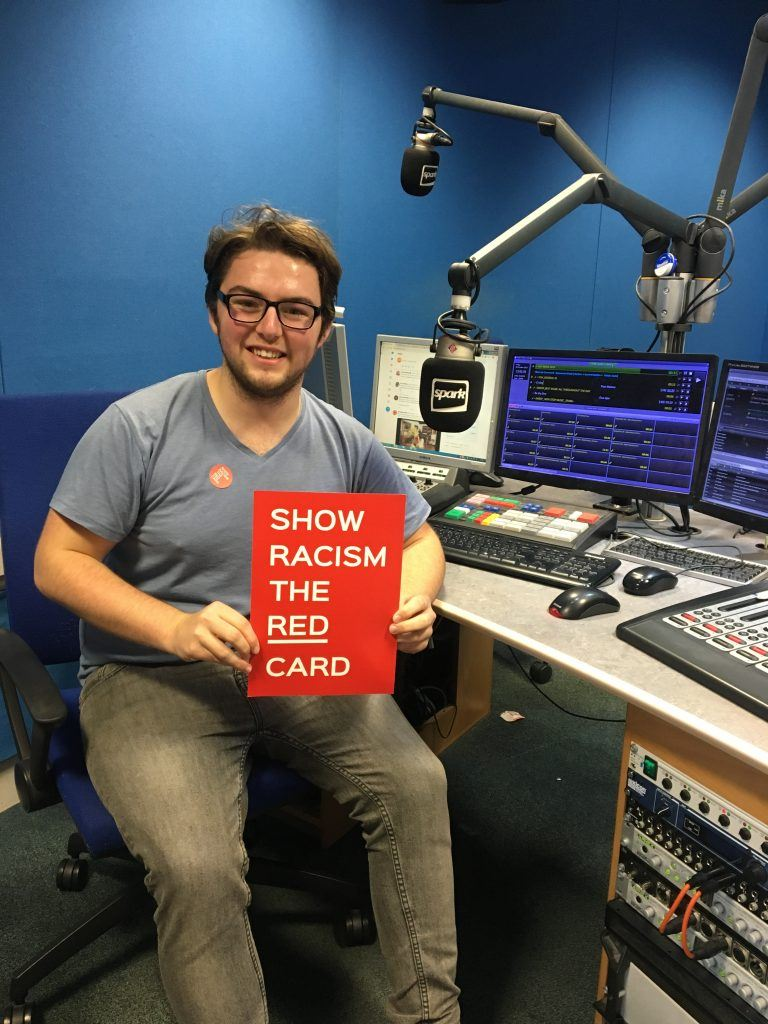 Kia showed his support on The Breakfast Show